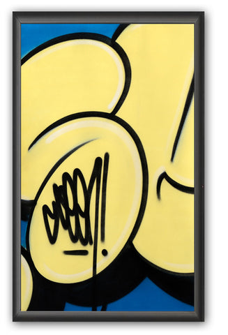 "GRAFFITI ARTIST SEEN -  ""Bubble #12""  Painting on paper"