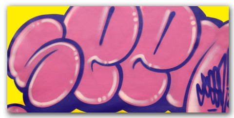 GRAFFITI ARTIST SEEN - Untitled 8 - Classic Bubble Painting