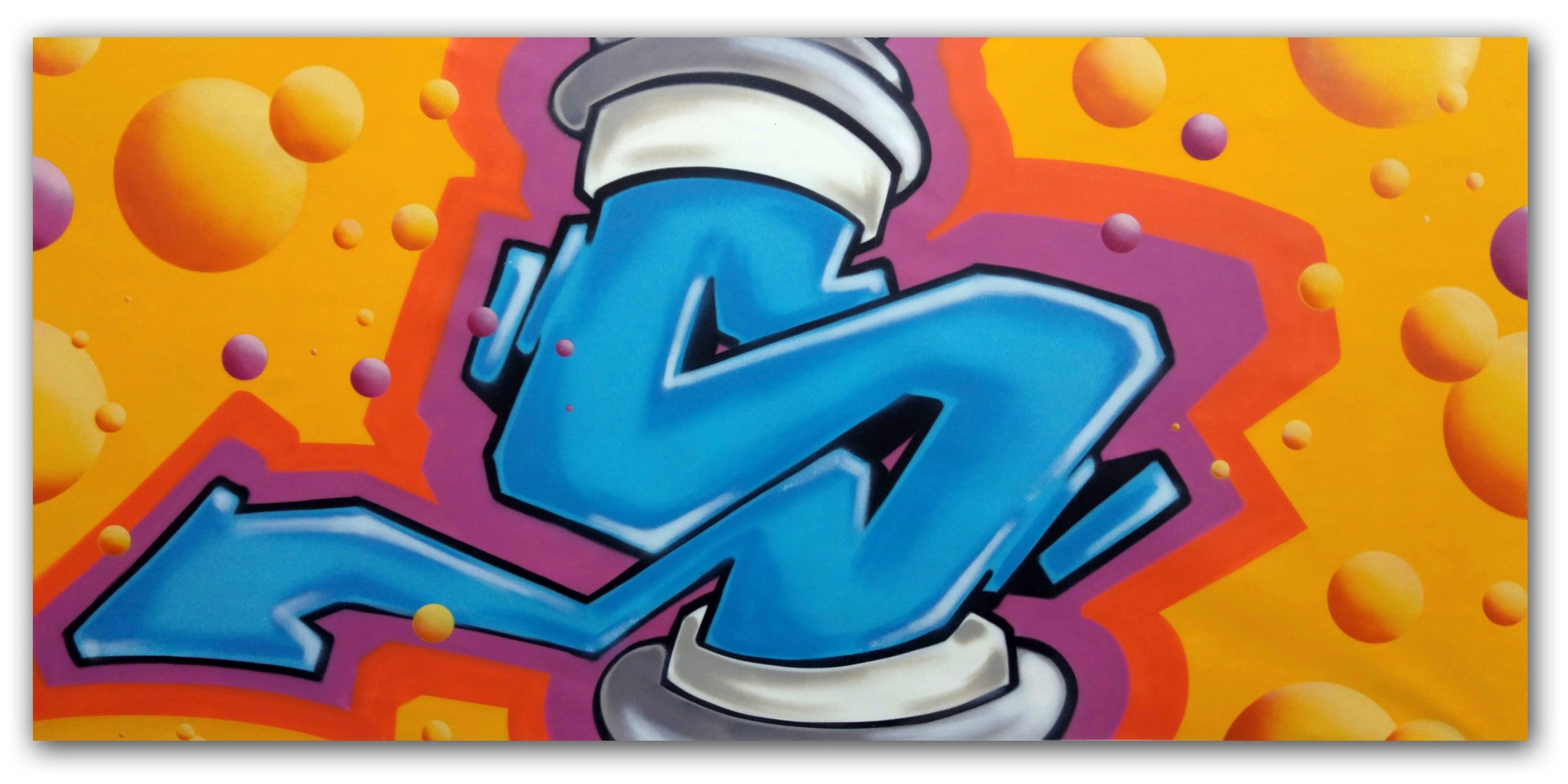 Graffiti Artist Seen Untitled Long S Canvas