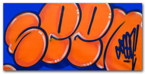 GRAFFITI ARTIST SEEN - Untitled 4 - Classic Bubble Painting