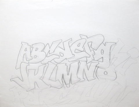 GRAFFITI ARTIST SEEN - Letters