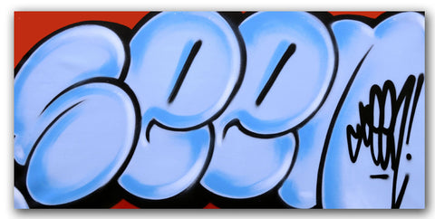 GRAFFITI ARTIST SEEN - Untitled 7 - Classic Bubble Painting