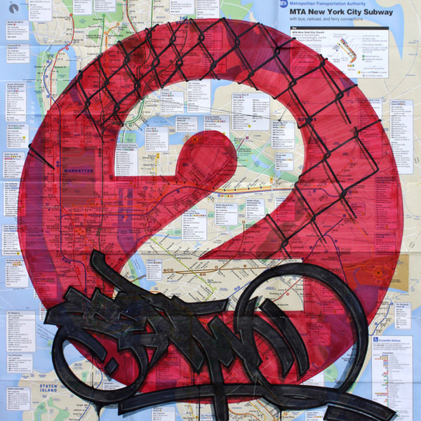"SEN2 - ""Untitled (2) "" NYC Map"