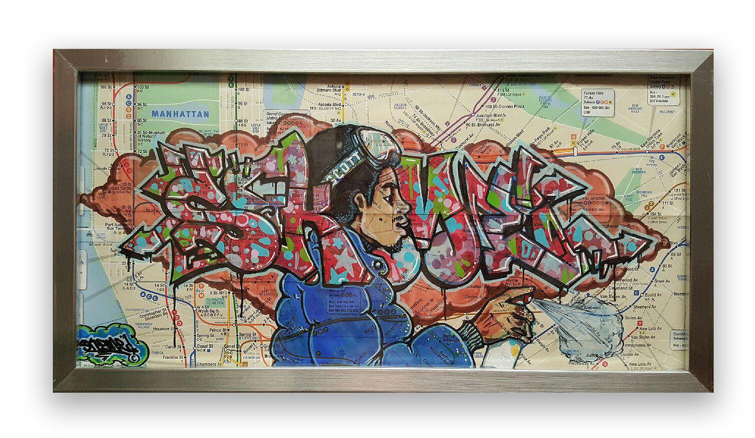 "SKEME - ""Candy Reign"" Piece on Map"