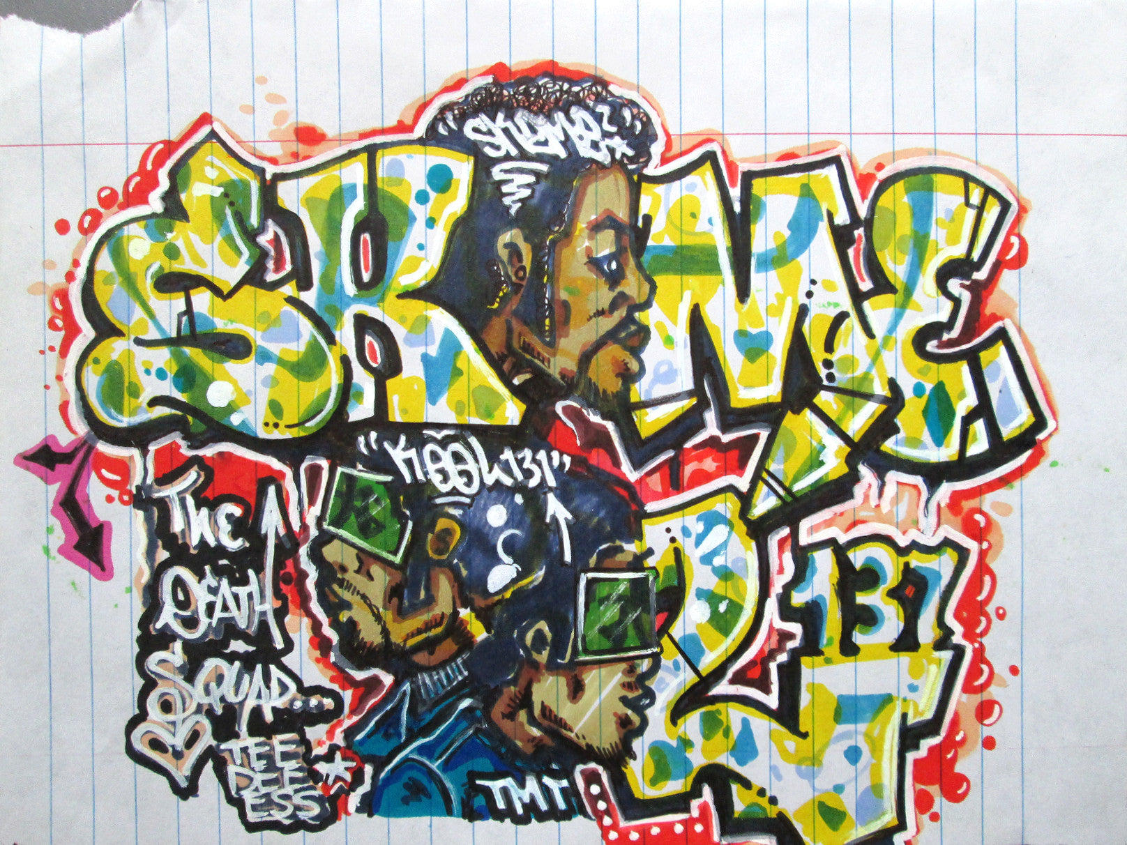 "SKEME - ""Skeme & Kool"" Drawing"