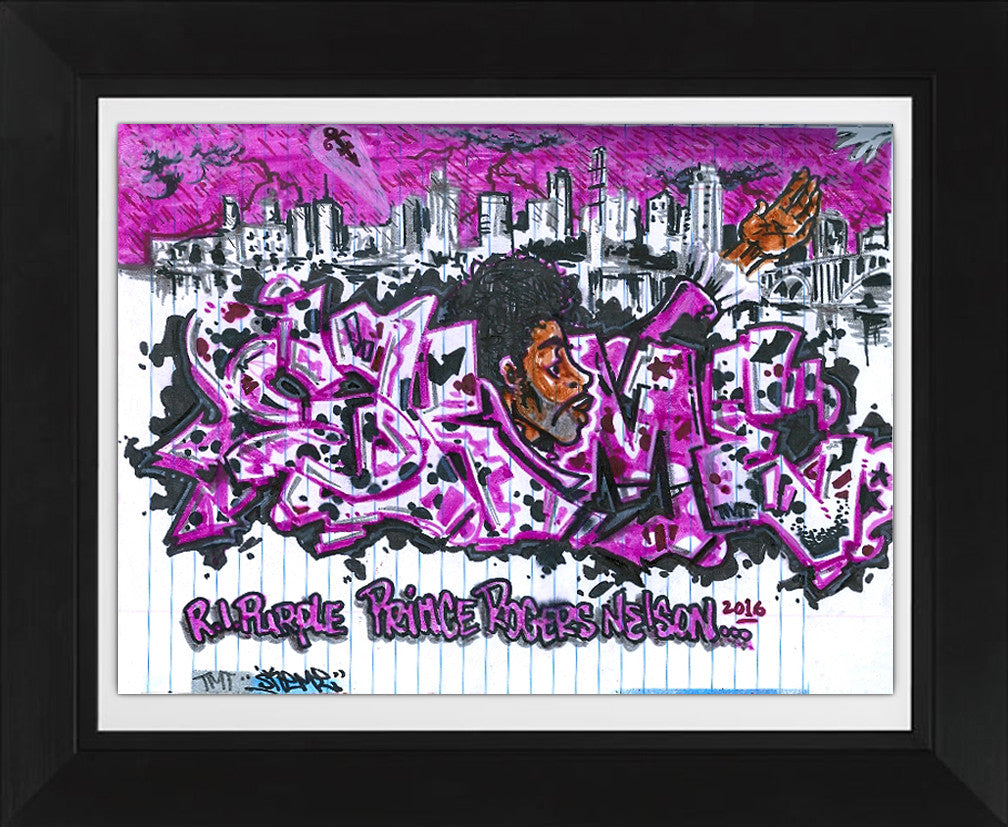 "SKEME - ""R.I. Purple"" Color Drawing"