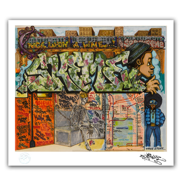 "SKEME - ""Once Upon a Line"" Print"
