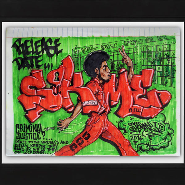 "SKEME - ""Release Date"" Color Drawing"