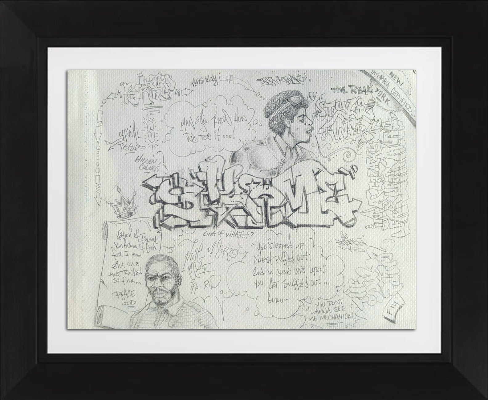 "SKEME - ""Official Tissue"" Drawing"