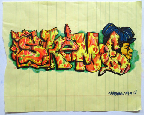 "SKEME - ""Skeme"" Drawing"