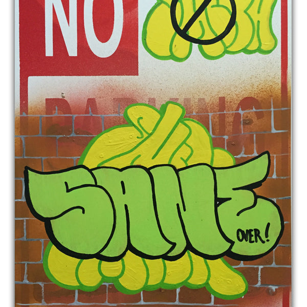 "SMITH -  ""SANE"" No parking Sign"
