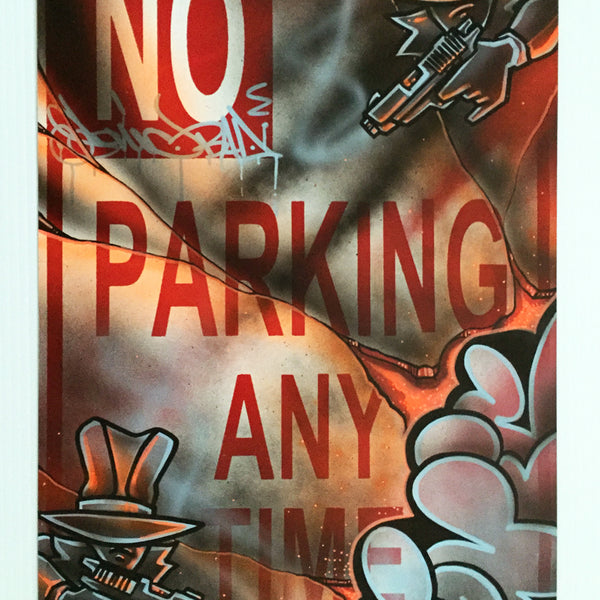 "SONIC  ""Gangsters ""No Parking Sign"