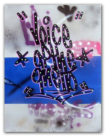 "STAYHIGH 149 - ""Voice of The Ghetto"" painting"