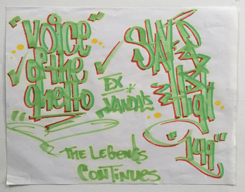 "STAYHIGH 149 - "" Stayhigh/Voice of the Ghetto"" Black Book"