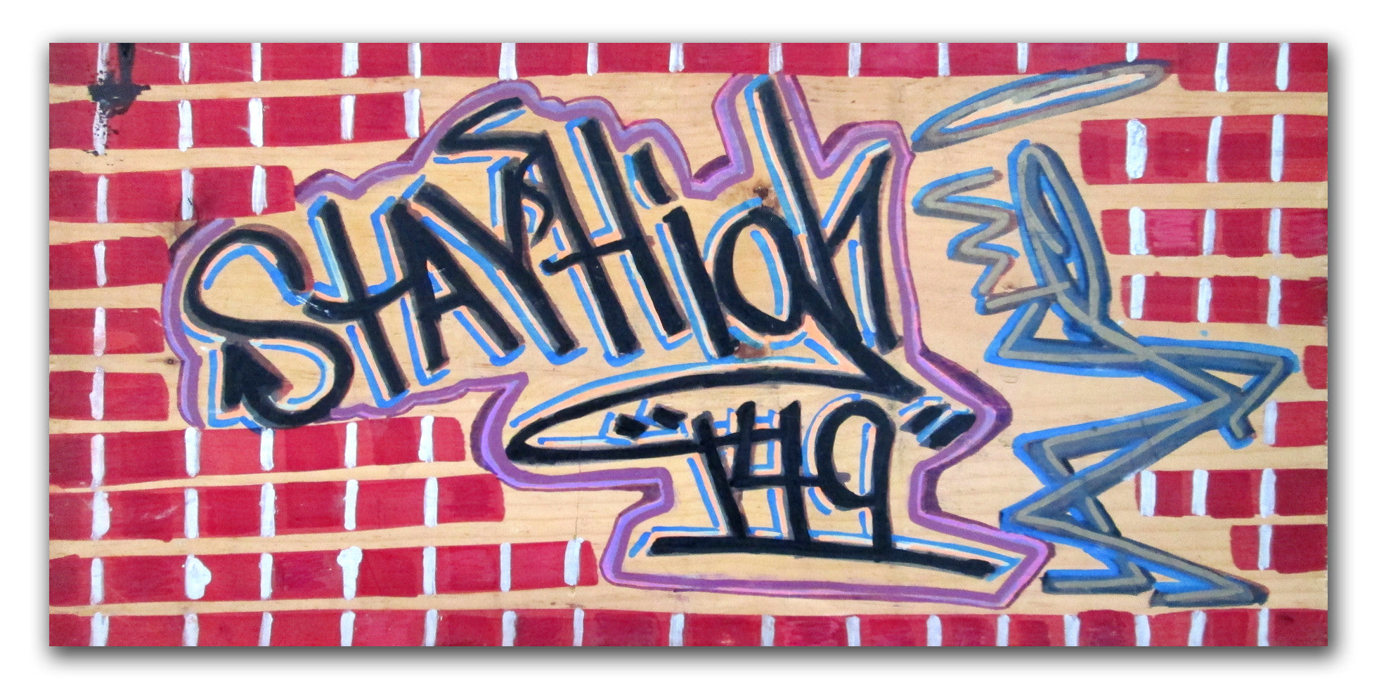 "STAYHIGH 149 ""Stayhigh149"" on wood"