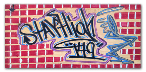 "STAYHIGH 149 - ""Stayhigh149"" Painting on wood"