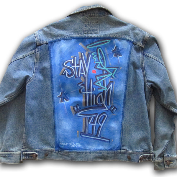 "STAYHIGH 149 - ""Stayhigh149"" Painted Jean Jacket"