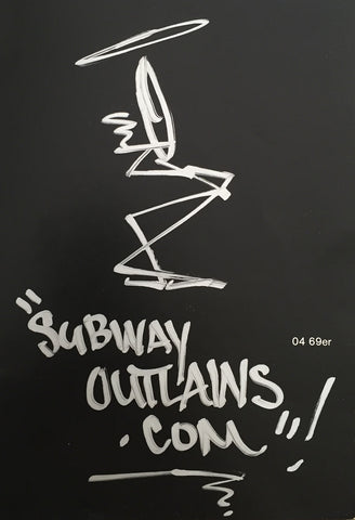 "STAYHIGH 149 - ""Subway Outlaws"" drawing"