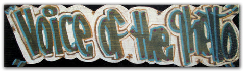 "STAYHIGH 149 - ""Voice of the Ghetto"" Painting on wood"