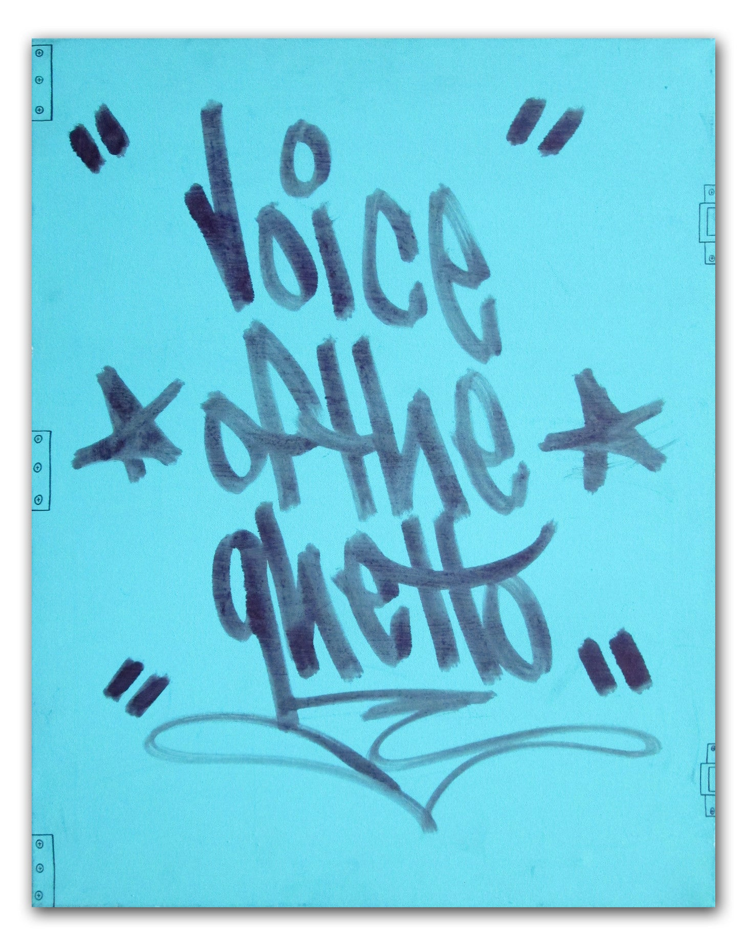 "STAYHIGH 149 ""Voice of the Ghetto"" Canvas"