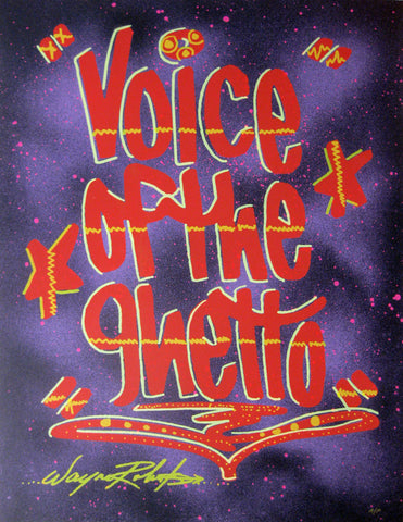 "STAYHIGH 149 - ""Voice of the Ghetto"" Print"