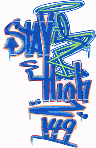 "STAYHIGH 149 - ""StayHigh"" Black Book Drawing"
