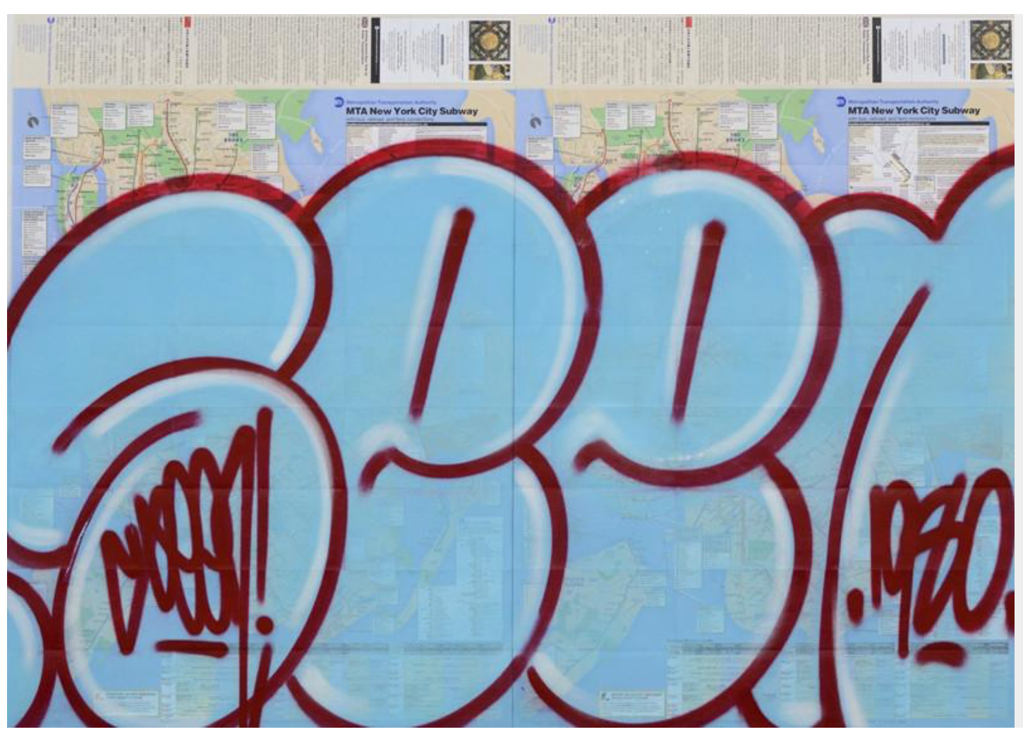 "SEEN - ""Bubble Diptych"" Map"