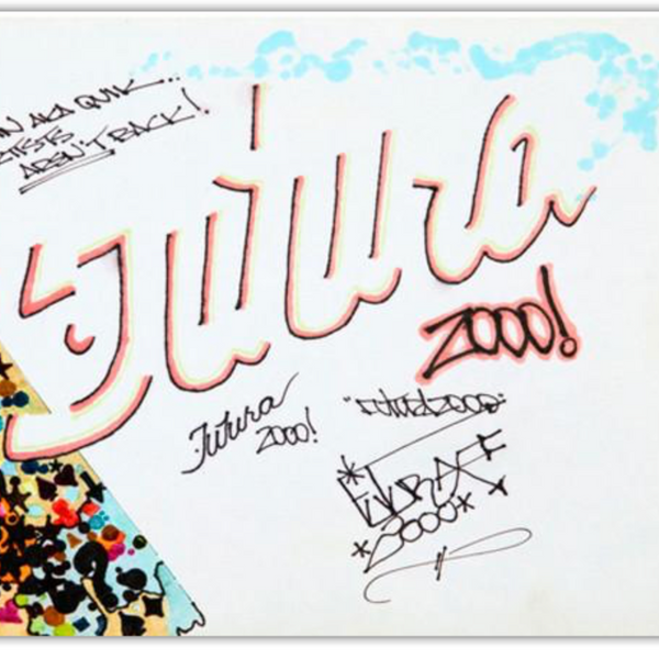 "FUTURA 2000  ""For Lin AKA QUIK"" B.B. Drawing"
