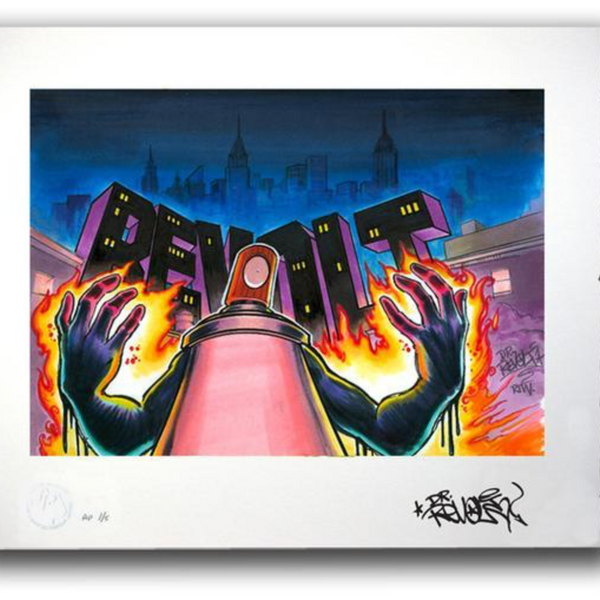 REVOLT - NYC BLACK BOOK MASTERS - Print