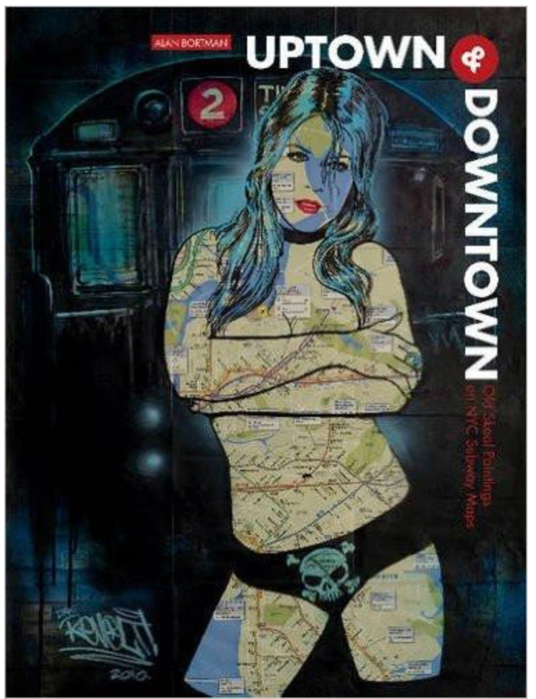 Uptown & Downtown: Paintings NYC Subway Maps