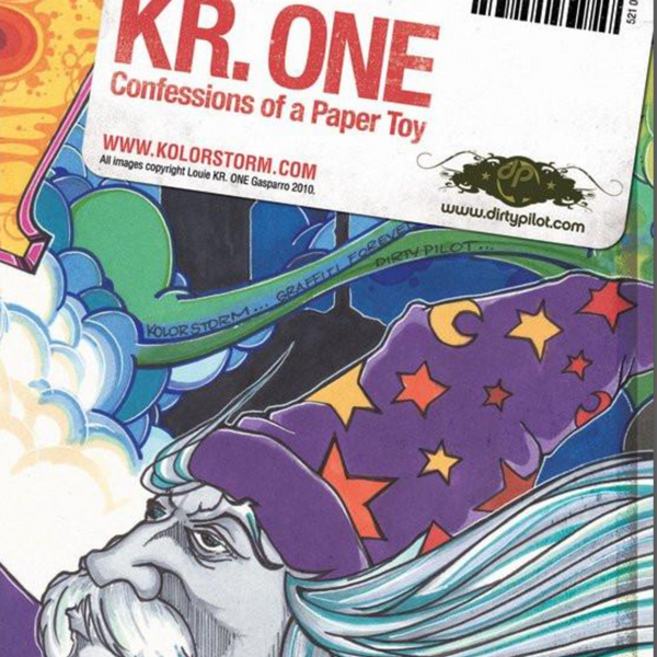 "KR.ONE - ""Confessions of a Paper Toy""  Zine"