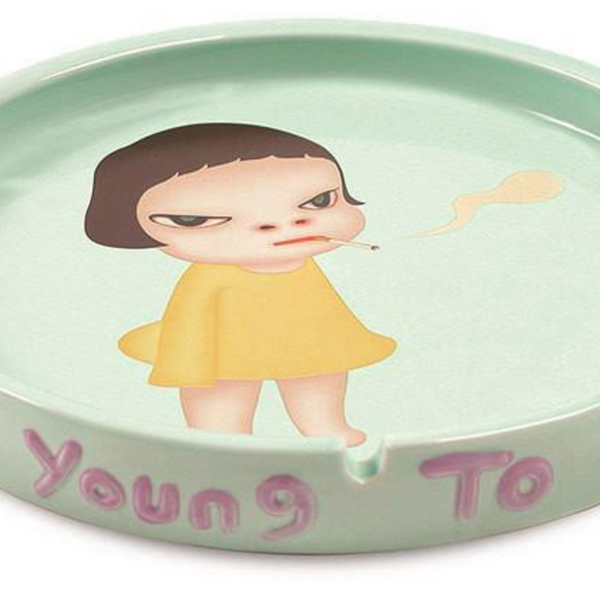 "Yoshitomo Nara - ""Too young to Die"" Ashtray"