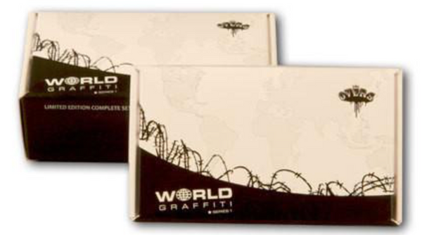 limited edition Pack of 21 Graffiti Trading cards