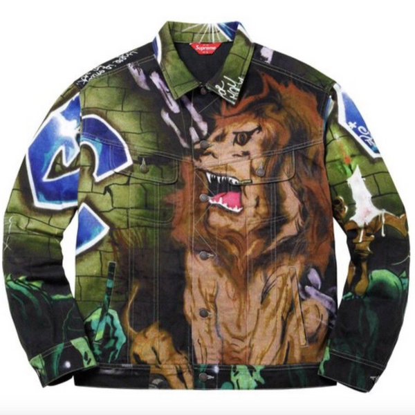 LEE QUINONES - Lions Den - Supreme Trucker Jacket