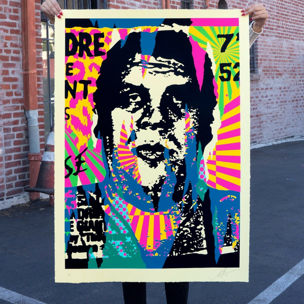 "SHEPARD FAIREY -""O.G. Rips"" Large format print"