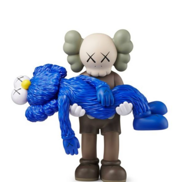 "KAWS - ""Gone"" Brown"