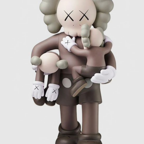 "KAWS - ""Clean Slate"" Brown"