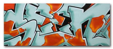 "GRAFFITI ARTIST SEEN -  ""SEEN 6""  Painting on Canvas"