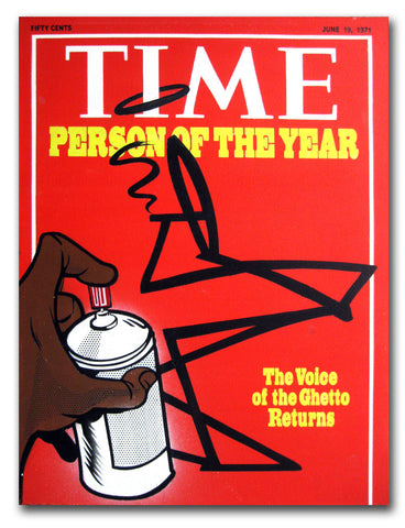 "SEVER - ""Person of the Year"" painting"