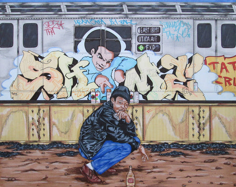 "SHAME 125  ""Utica Ave""  Drawing"