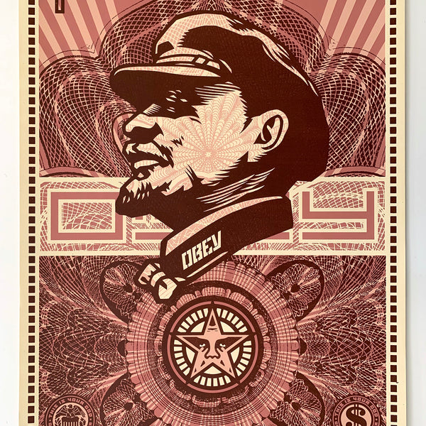 "SHEPARD FAIREY - ""Lenin Money"" Print"