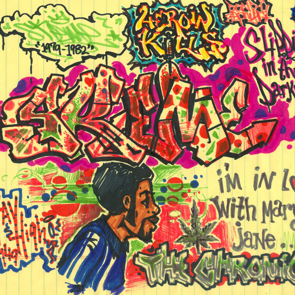 "SKEME - ""Mary Jane"" Drawing"