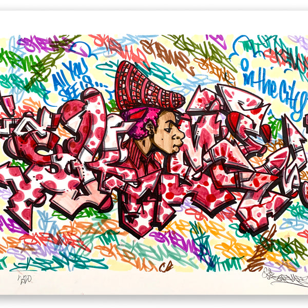 "SKEME - ""SKEME in the City"" Drawing"