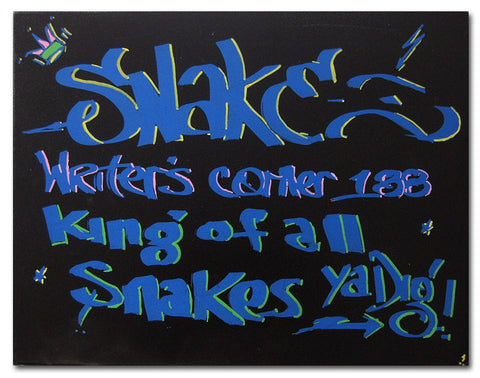 "SNAKE 1  ""Writers Corner "" Painting"