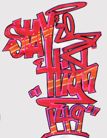 "STAYHIGH 149 - ""StayHigh"" Black Book Drawing 2"