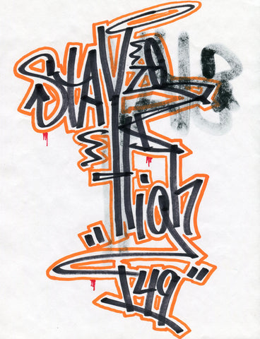"STAYHIGH 149 - ""StayHigh"" Black Book Drawing 5"