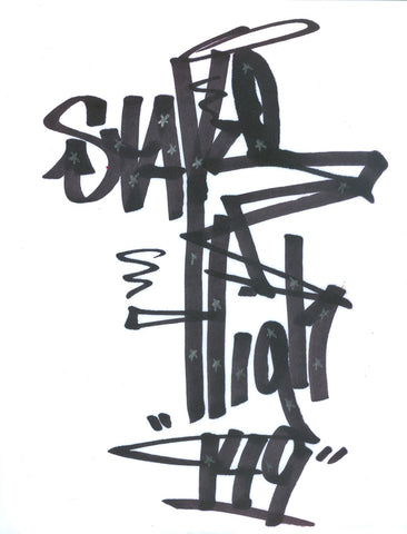 "STAYHIGH 149 - ""Stayhigh 149""  Black Book Drawing"