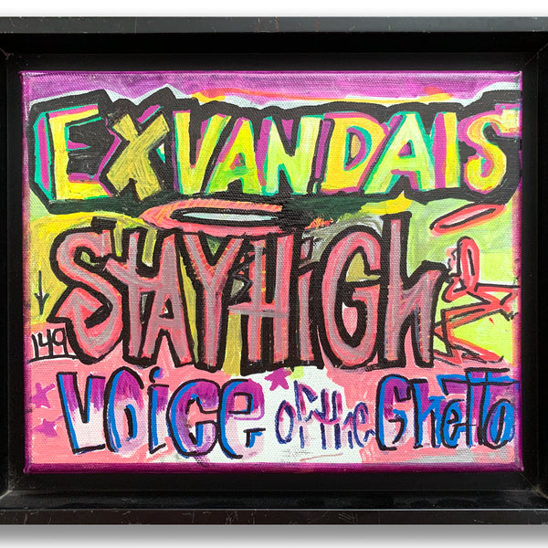 "STAYHIGH 149 ""Exvandals"" Painting"