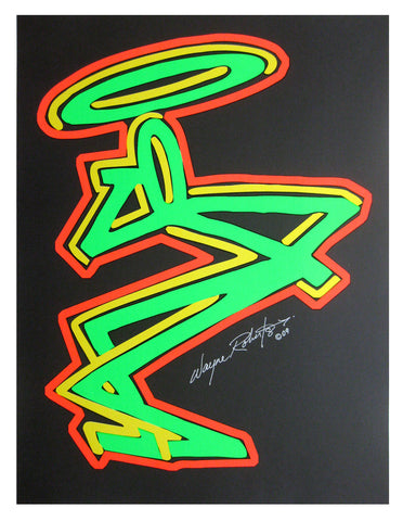 "STAYHIGH 149 - ""Smoker (neon)"" Print"