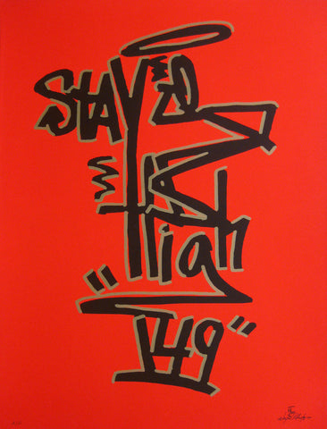"STAYHIGH 149 - ""Tag"" Print"
